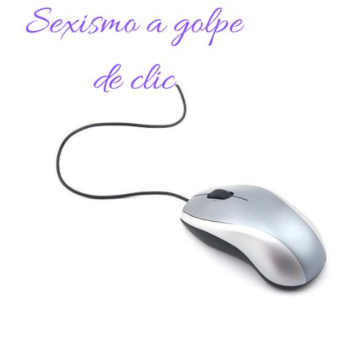 Logo Sexismo a golpe de clic