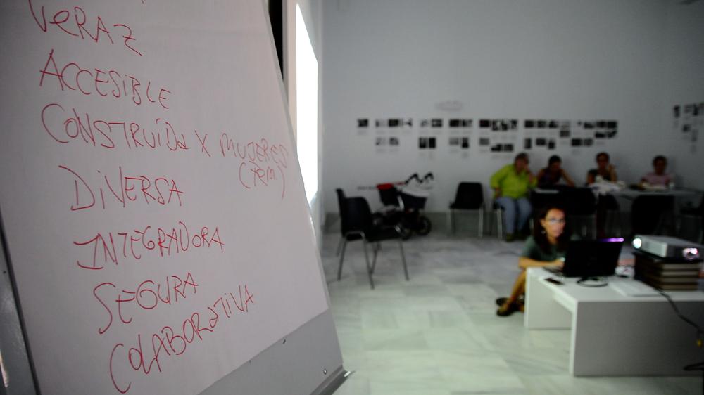 Sesión de Helena Madico en ACTVFEM Alcances